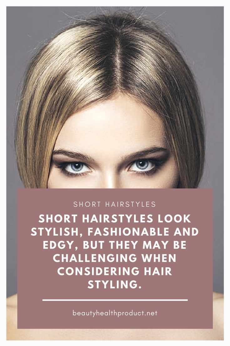 Short Hairstyles. Short hairstyles look stylish, fashionable and edgy, but they may be challenging when considering hair styling. #shorthairstyle