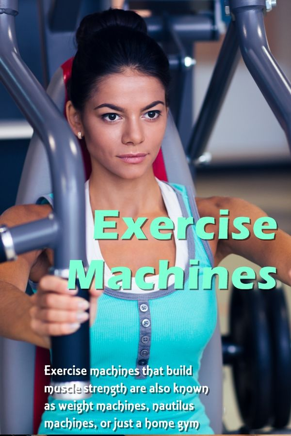 Home Gym Workout Machines. If you are not sure that delving into the world of weight-lifting using traditional free weights is something you would enjoy, you might be interested in an exercise machine. #exerciseequipment