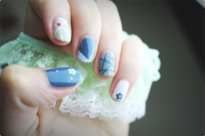 Creative Nails. You may be inclined to skip these initial few actions, but the set-up is equally as significant as the nail art itself. #nailartideas