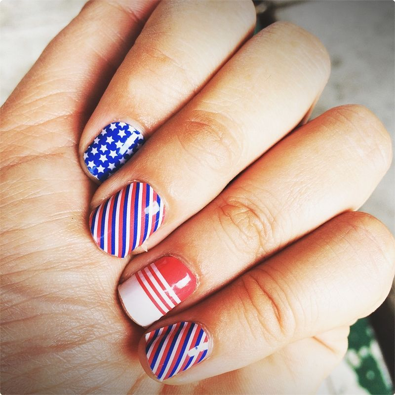 Nail Design Ideas. You have to enable each nail polish layer to dry while you finish each stage so that you can make the design last. #nailartideas