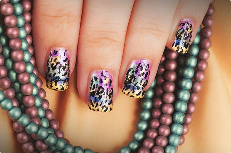Nail Design Ideas. When you begin any design, you need to wipe your nails using a cotton ball soaked in nail polish cleaner. #nailartdesign