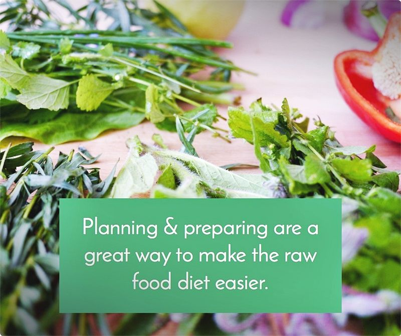 Eat raw foods. Whenever you prepare your food, it passes through an array of chemical changes, which is made up of new chemicals - toxins ones even. #rawfood
