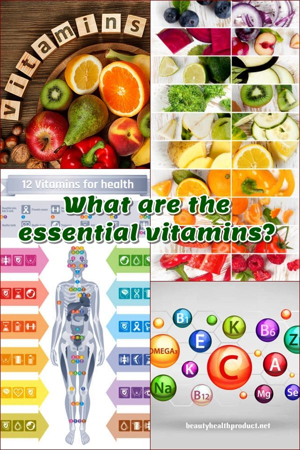 Essential vitamins for women. Vitamins and minerals are indispensable for our bodies to function correctly. #vitamins