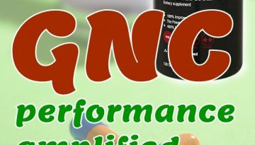 GNC performance amplified creatine supplement offers extra physical fitness to the body needed