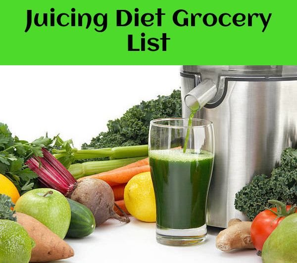 Juicing Grocery List. This list will go over all the fruits, vegetables, herbs, and other ingredients mentioned in each recipe. It is a great way to start, though of course, you can pick up any fruits and vegetables you like! #juicing101