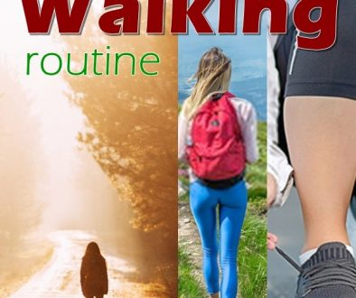 For anyone that wants to get back into shape, a walking routine is a great way to start