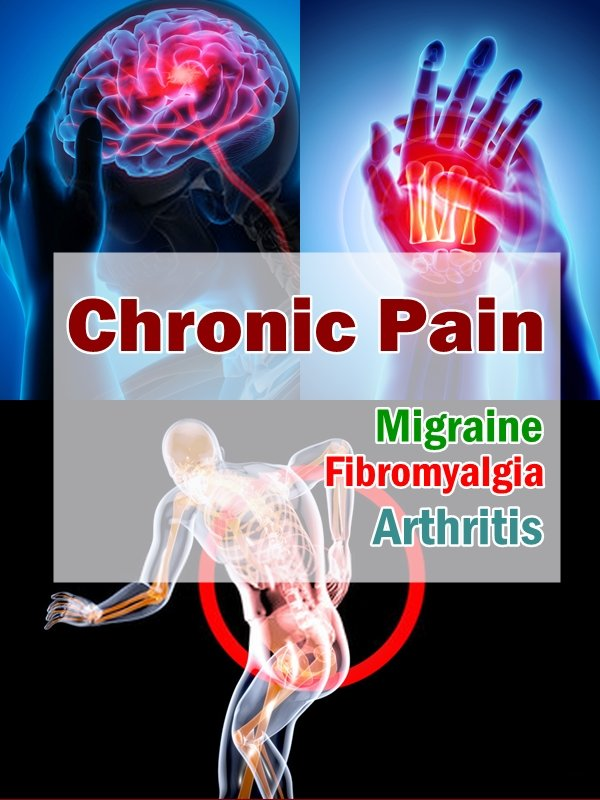 With chronic pain, there can be several factors that cause it. Inflammation in the body is well known in regards to chronic pain, as is nerve damage.