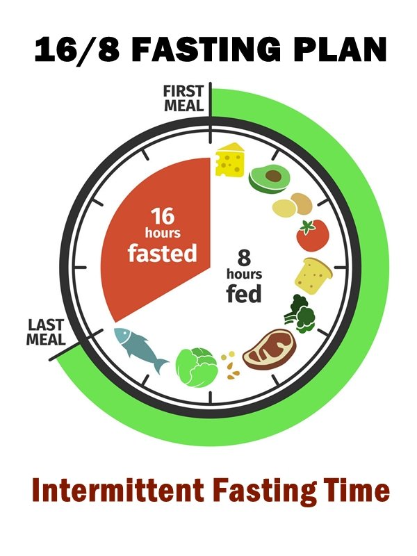 What is intermittent fasting 16/8? Intermittent fasting 16:8 is the ideal technique for losing weight fast